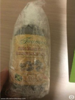 Bottle covered in bubble wrap
